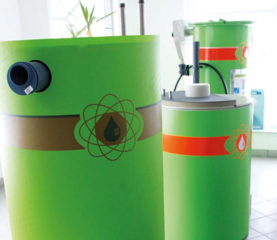 Energie aus Abwasser - Wärmetower