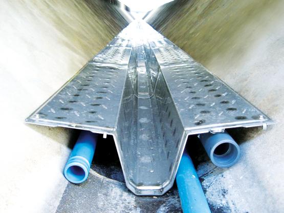 Wärmetauscher zur Nutzung von Energie aus Abwasser