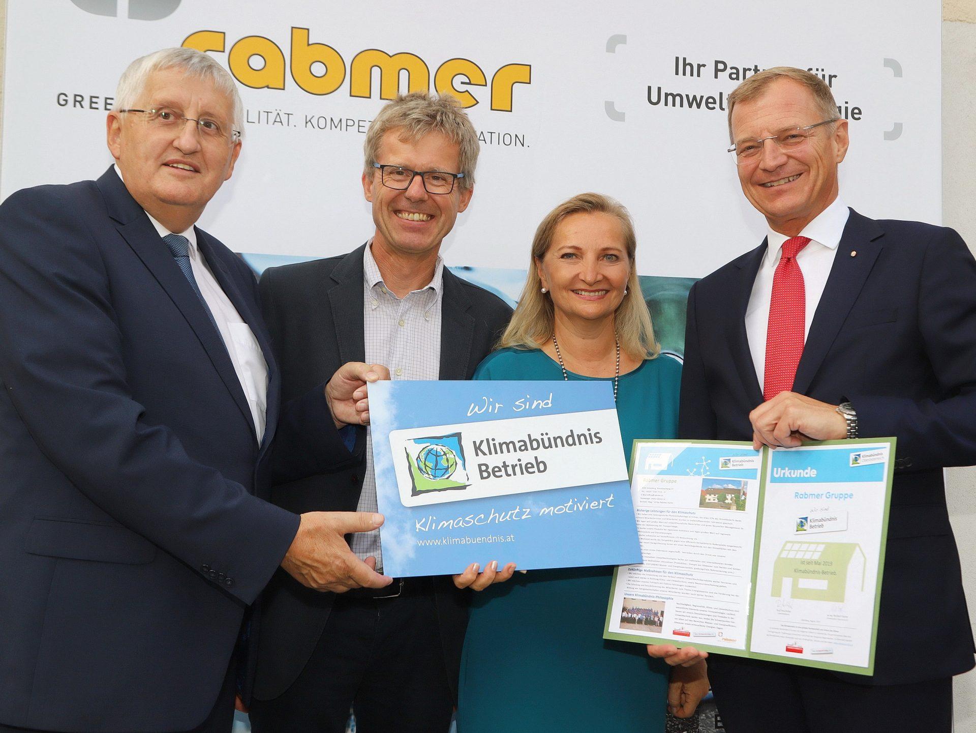 Auszeichnung zum Klimabündnisbetrieb
