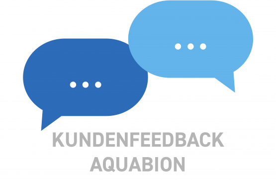 AQUABION Kundenfeedback