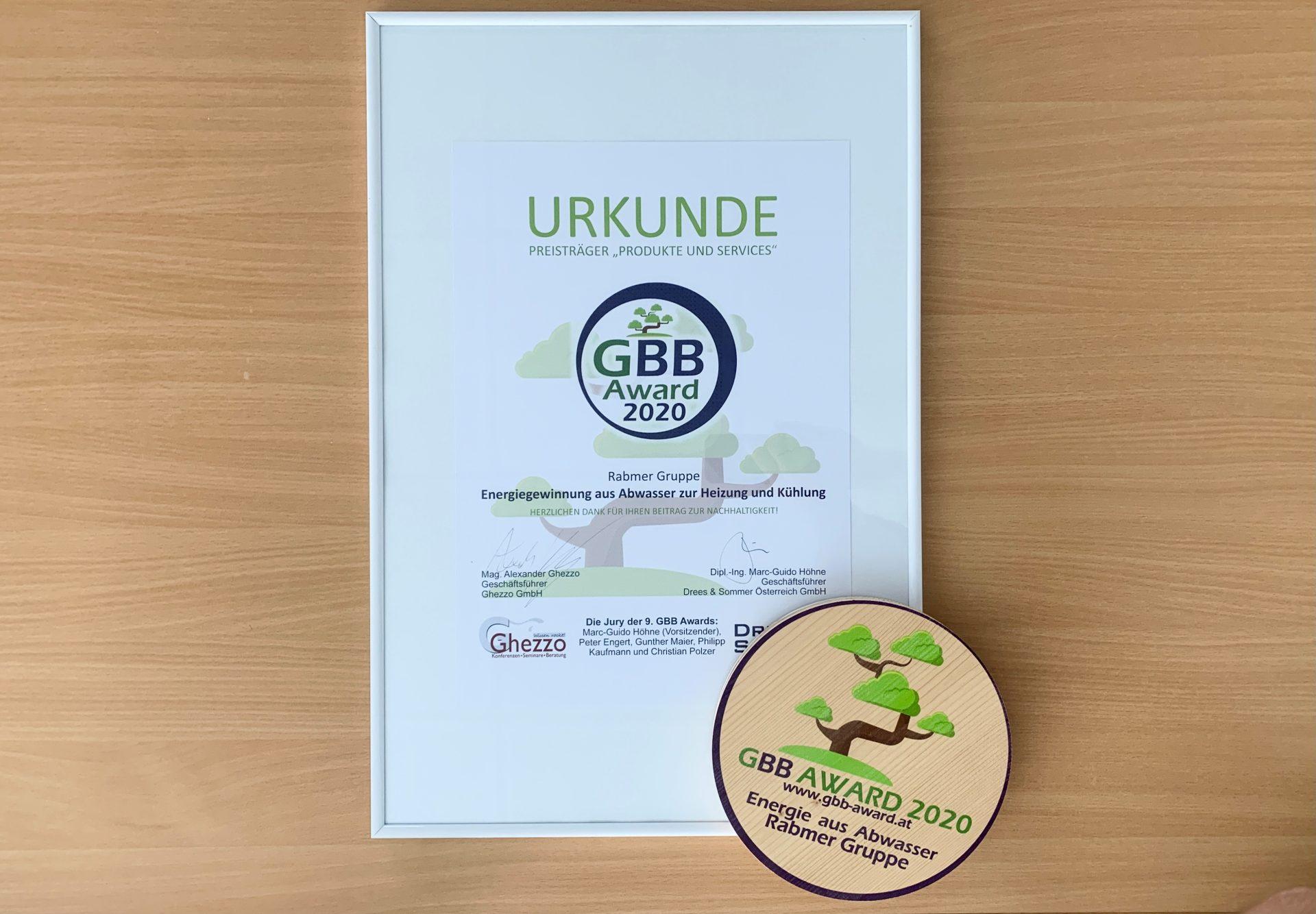 GBB Award: Rabmer holt Nachhaltigkeits-Preis