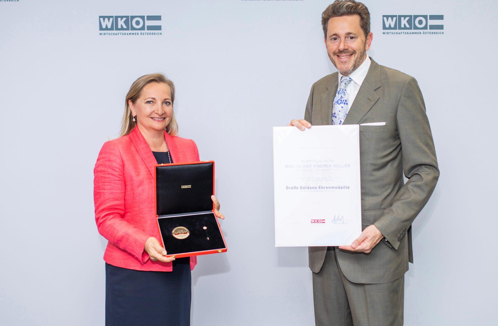 Ulrike Rabmer-Koller is leaving her position as Vice President of the Austrian Chamber of Commerce
