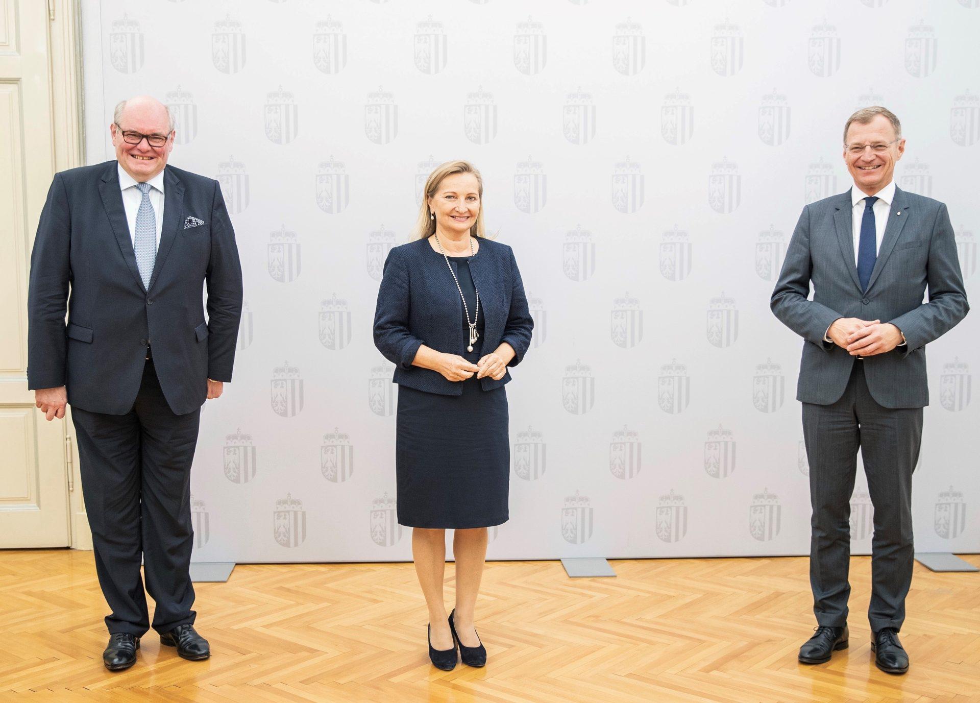 Ulrike Rabmer-Koller wird als belgische Honorarkonsulin angelobt
